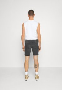 Only & Sons - ONSPLY - Denim shorts - black - 2
