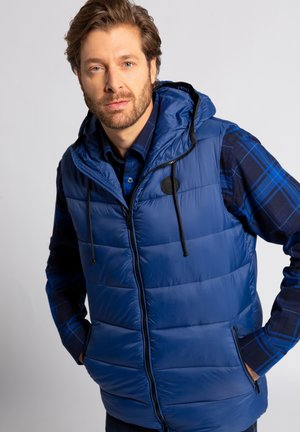 Waistcoat - cobalt blue