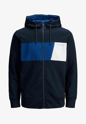 Felpa aperta - navy blazer