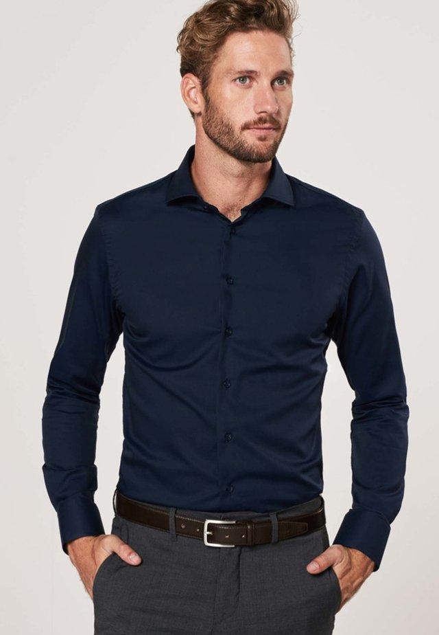 SLIM FIT - Formal shirt - navy