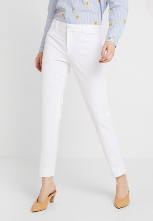 SLOAN SOLID - Trousers - white
