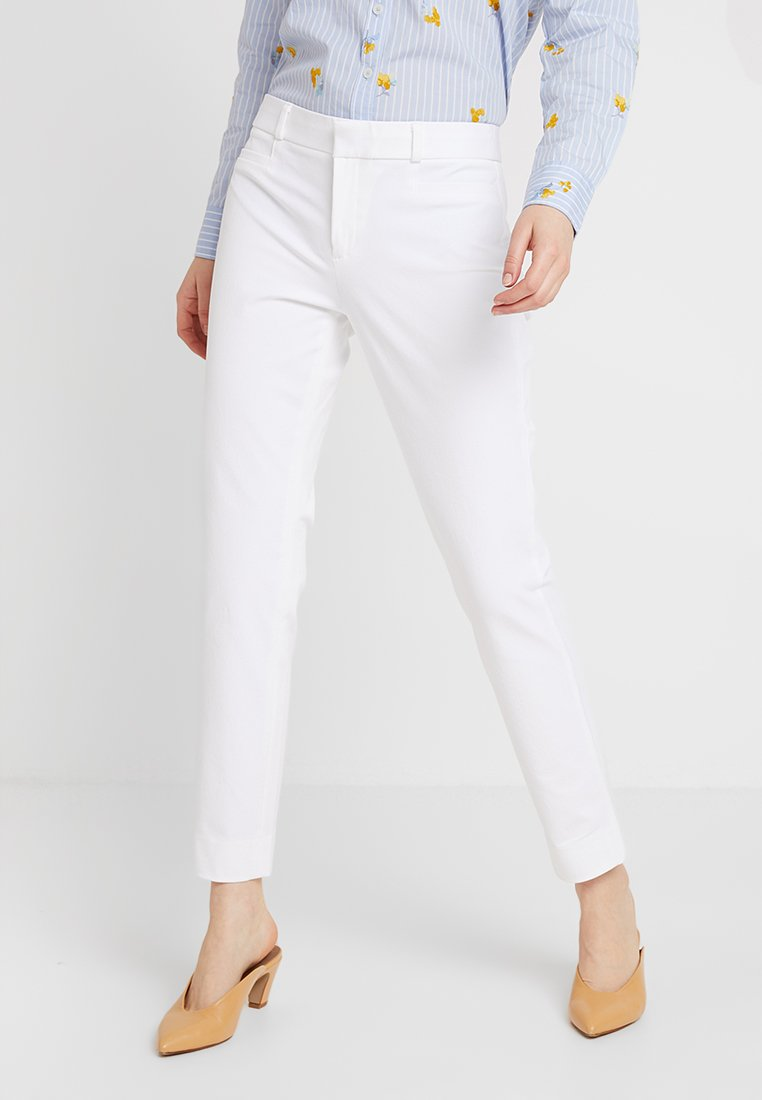 Banana Republic - SLOAN SOLID - Spodnie materiałowe - white