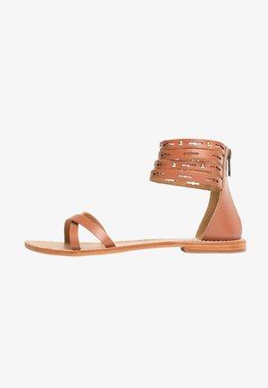 CAPUCIN  - Sandals - camel