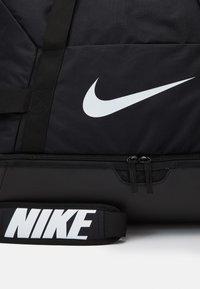 Nike Performance - TEAM - Sports bag - black/white - 4