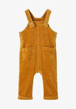 Jumpsuit - golden brown