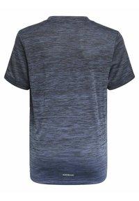 adidas Performance - AEROREADY GRADIENT T-SHIRT - Basic T-shirt - black - 1