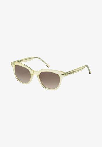 EYEWEAR WAYFARER MIT GETÖNTEN  - Sunglasses - light yellow transparent