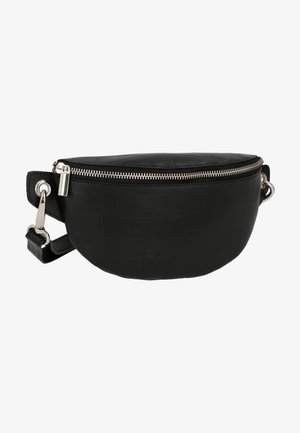 ROSAMONDE - Bum bag - schwarz  matt