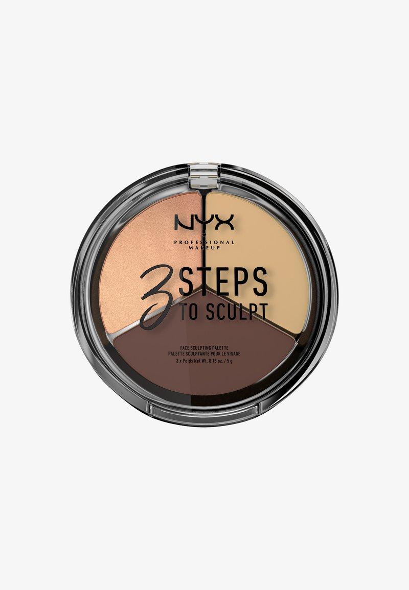 Nyx Professional Makeup - 3 STEPS TO SCULPT - Contouring - 3 medium
