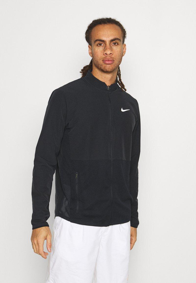 Nike Performance - Veste de survêtement - black/white