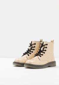 Friboo - Lace-up ankle boots - gold