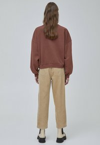 PULL&BEAR - Mikina - light brown - 2
