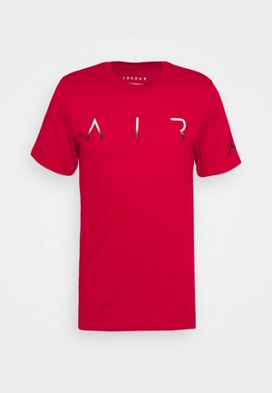 JUMPMAN AIR CREW - Print T-shirt - gym red/white