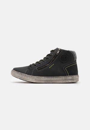 Sneakers high - mare/schwarz/granit