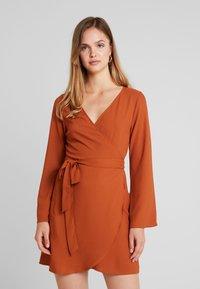 Even&Odd - Day dress - rusty red - 0