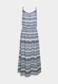 ONLY - ONLASIA LIFE DRESS - Maxi dress - faded denim/desert flower - 0