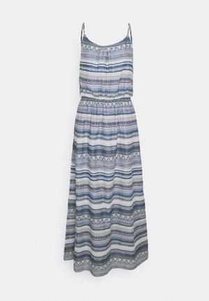 ONLASIA LIFE DRESS - Maxi dress - faded denim/desert flower
