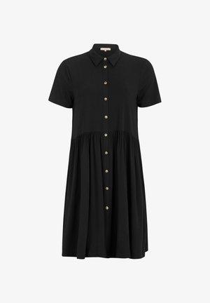 SRVALENCIAL - Shirt dress - black