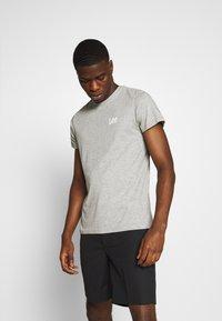 Lee - TWIN PACK - T-shirt z nadrukiem - black/grey - 1