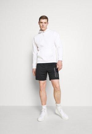2 PACK - Hættetrøjer - white/black