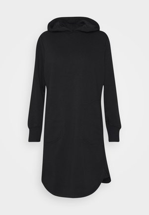 ONLELVIRA HOOD DRESS - Kjole - black