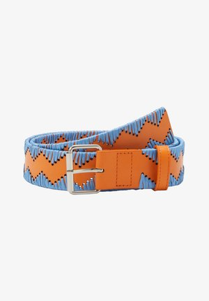 CINTURA - Belt - light blue/orange