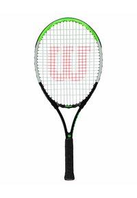 Wilson - BLADE FEEL BESAITET - Tennis racket - schwarz/grün - 1