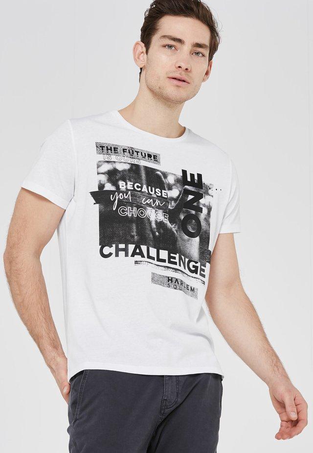ARTWORK - Print T-shirt - white