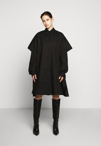 MM6 Maison Margiela - Košilové šaty - black - 1