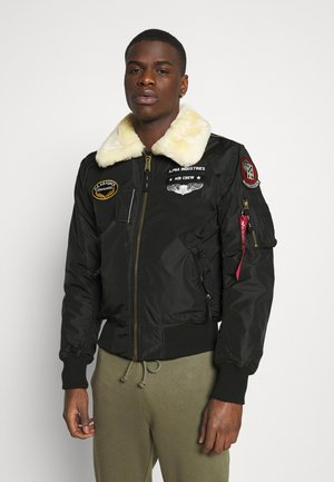 INJECTOR  AIR FORCE - Kurtka Bomber - black