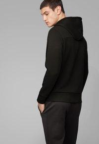 BOSS - SAGGY CIRCLE - Zip-up hoodie - anthracite - 2