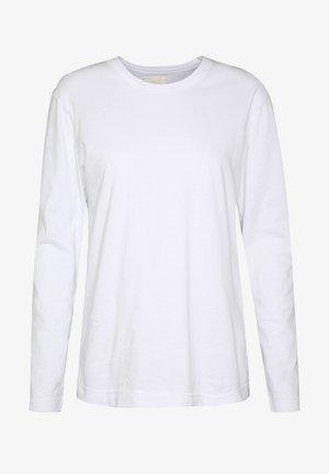 MAJA - Top sdlouhým rukávem - white