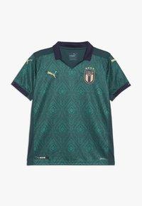 Puma - ITALIEN FIGC THIRD REPLICA - Print T-shirt - ponderosa pine peacoat - 0