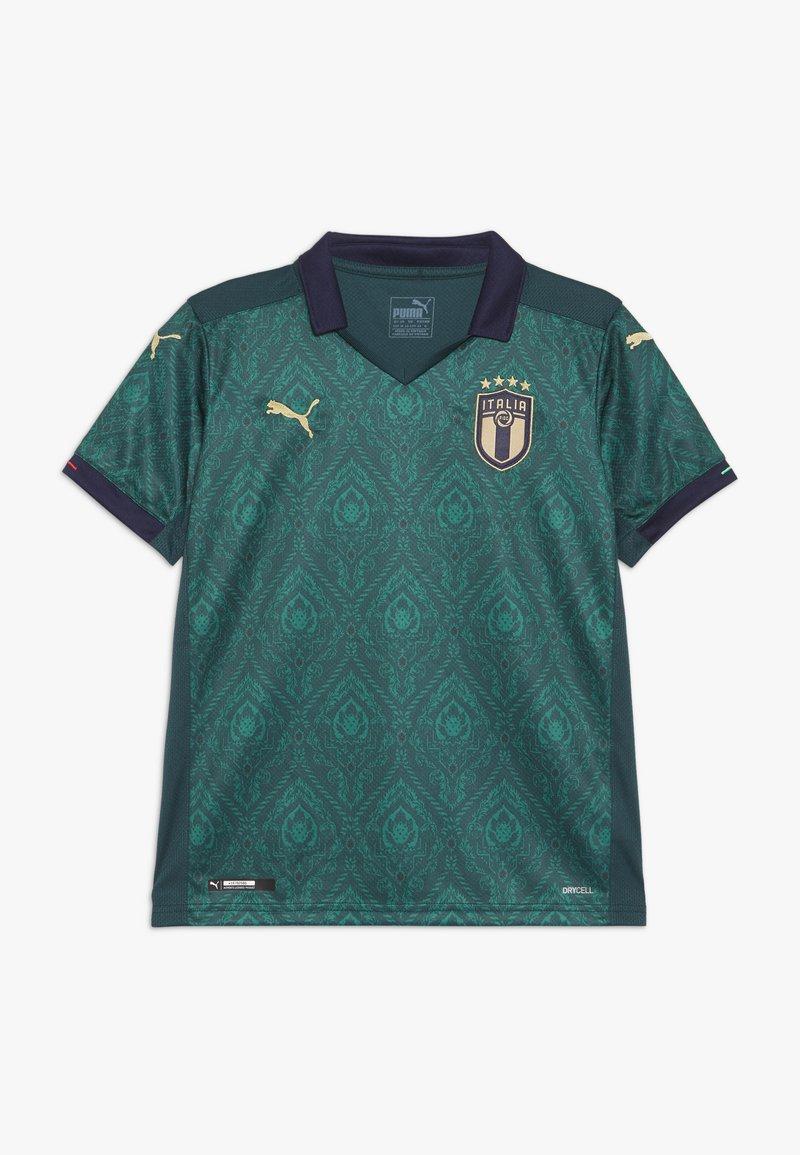 Puma - ITALIEN FIGC THIRD REPLICA - Print T-shirt - ponderosa pine peacoat