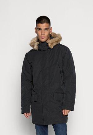 WOODSIDE LONG UTILITY  - Winter coat - jet black