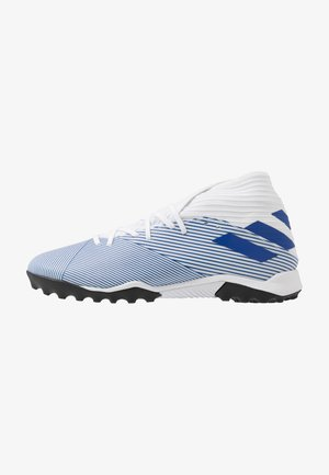 NEMEZIZ 19.3 TF - Astro turf trainers - footwear white/royal blue/core black