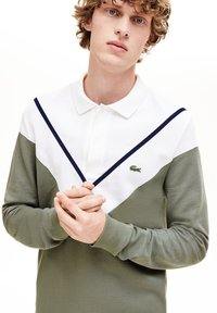 Lacoste - PH8568 - Polo shirt - khaki green/white - 1