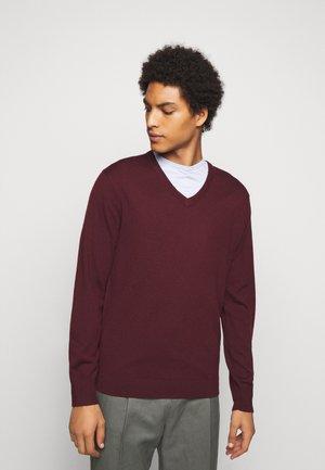 Trui - dark burgundy