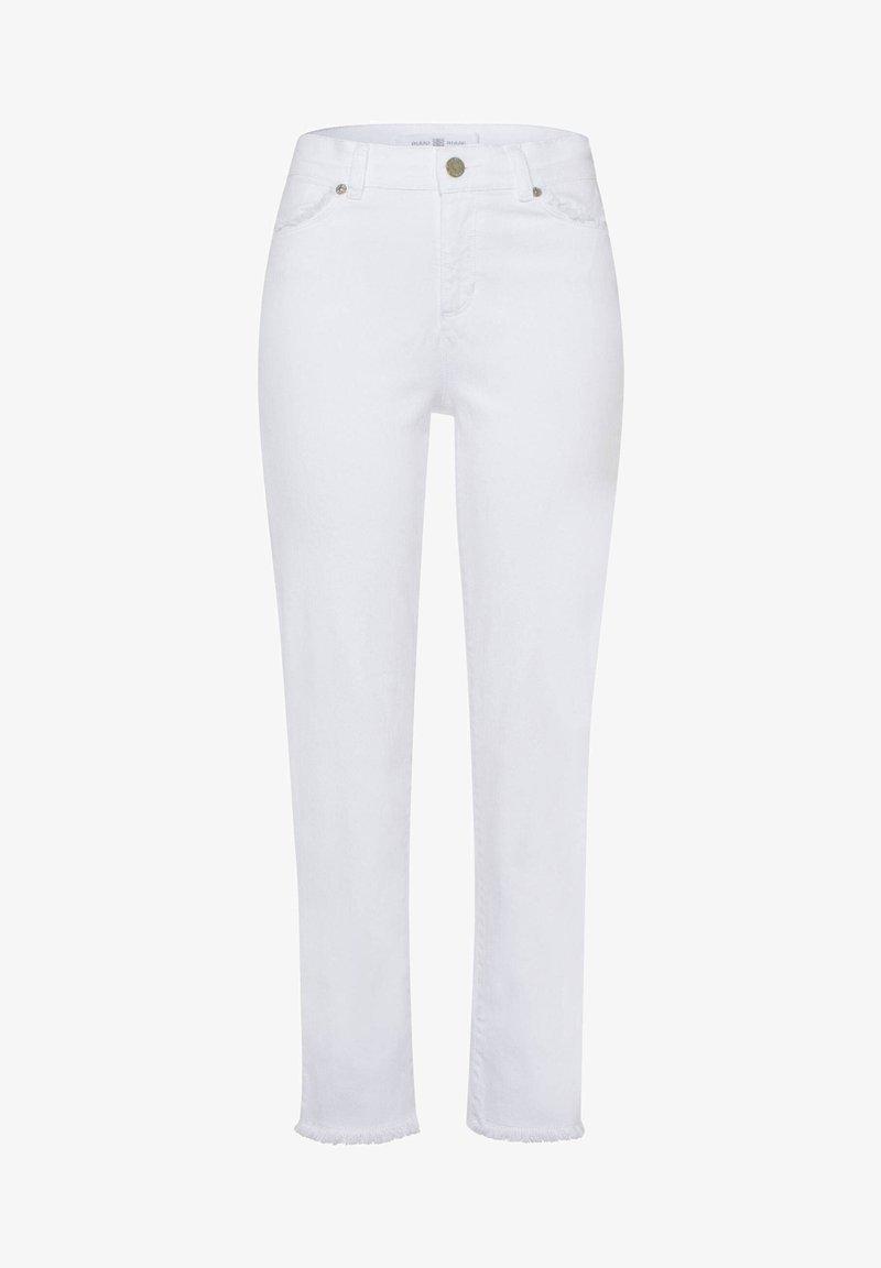 RIANI - DAMEN JEANS SLIM FIT - Slim fit jeans - weiss (10)