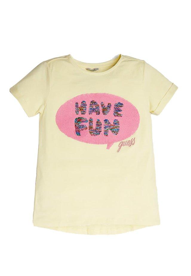 A$AP ROCKY - T-shirt print - yellow