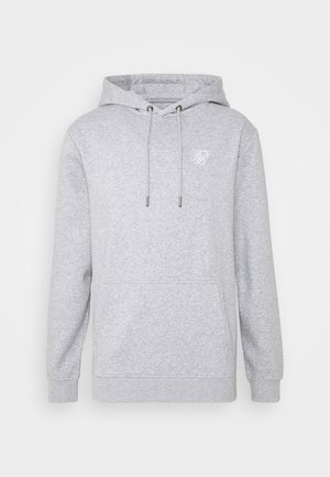 MUSCLE FIT OVERHEAD HOODIE - Jersey con capucha - grey marl