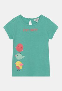 OVS - PACK 2 - T-shirt print - lemon meringue/holiday - 2
