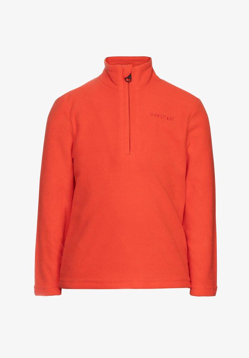 Protest - PERFECT  - Fleece jumper - orange fire