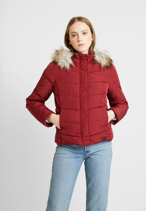 Winter jacket - pomegranate