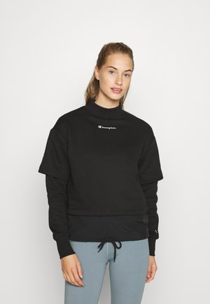 HIGH NECK LEGACY - Collegepaita - black