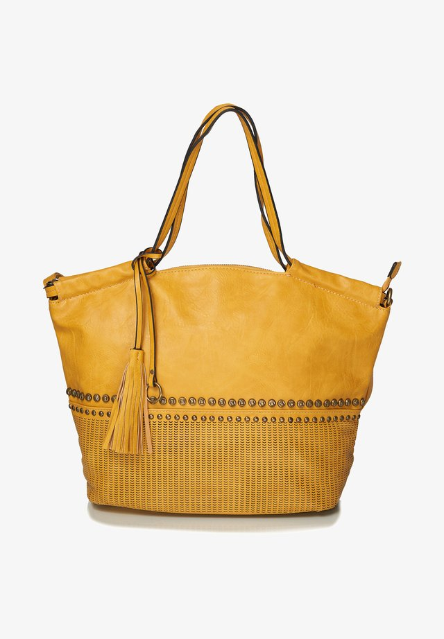 Tote bag - curry