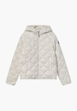 THE WEIGHT DIAMOND PUFFER - Winter jacket - eggshell