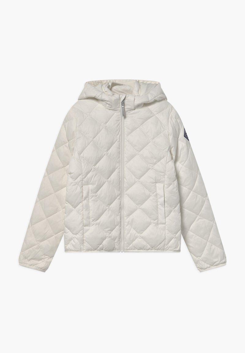 GANT - THE WEIGHT DIAMOND PUFFER - Winter jacket - eggshell