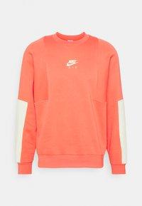 AIR CREW - Sweatshirt - magic ember/lime ice