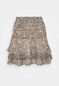 ONLMARGUERITE SKIRT - Mini skirt - pumice stone